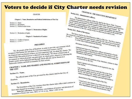 City Charter revision: Few are yet aware of important vote on this year's ballot