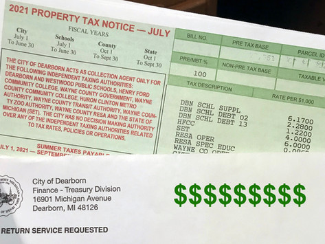 Summer property tax bills arrive; here's an explanation of what's included
