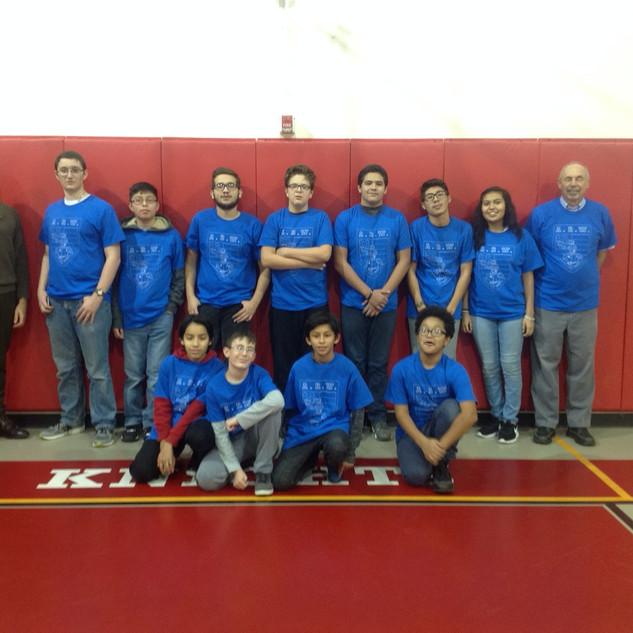 Team American Robot Warriors ( A. R. W )