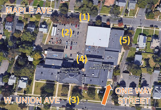 Parking and Load-In Designations for Bou