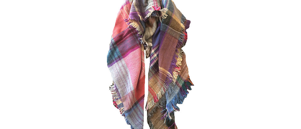 AIRELL Wool Throw Scarf