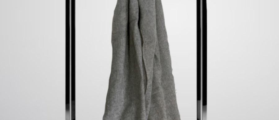 FREDDI Wool Scarf - Ice Grey
