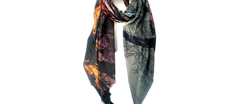 COPPICE Oversized Luxury Wool Scarf/Wrap