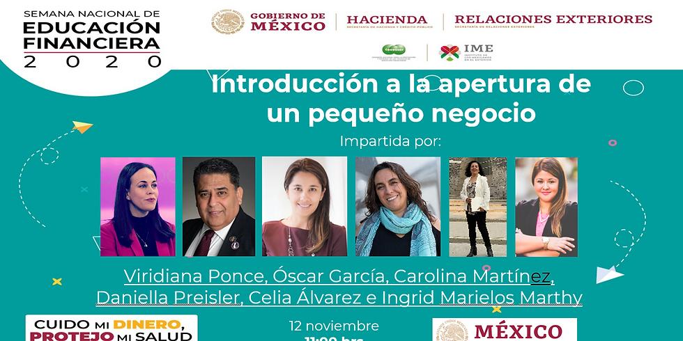 Emprendimiento y Impacto de Pequeños Negocios: Consulado Mexicano