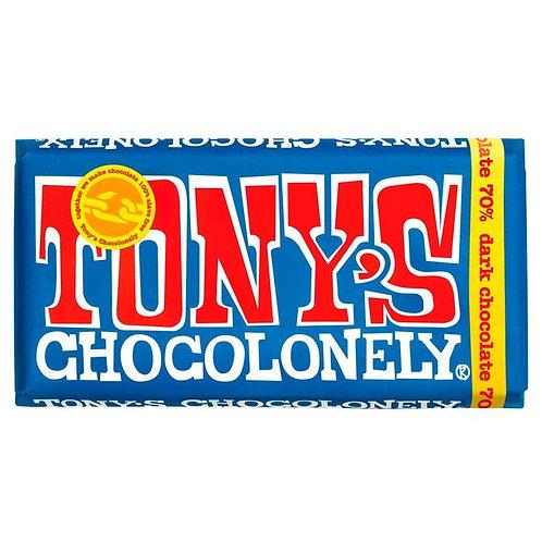 Extra dark chocolate 70% 180g