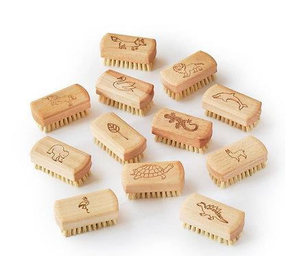 Kids Natural Vegan Nail Brush (FSC 100%)