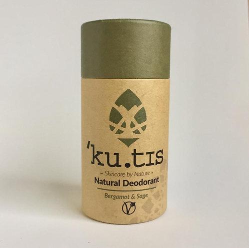 Kutis Natural deodorant - Bergamot & Sage