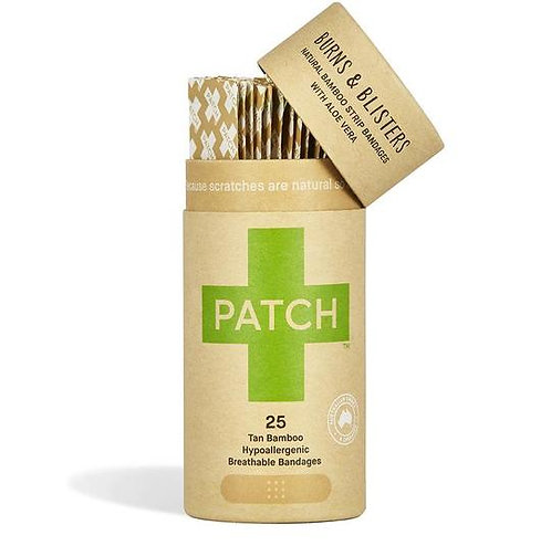 Patch biodegradable plasters -Aloe vera