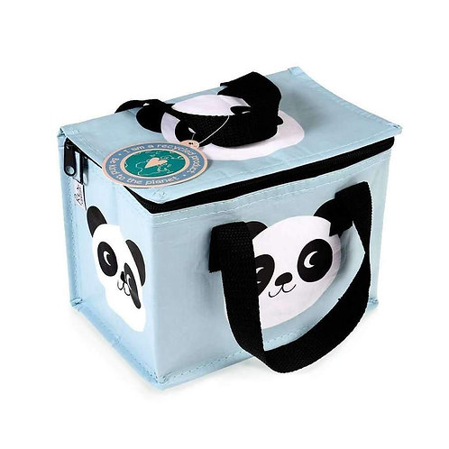 Recycled Plastic Insulated Lunch Bag - Panda