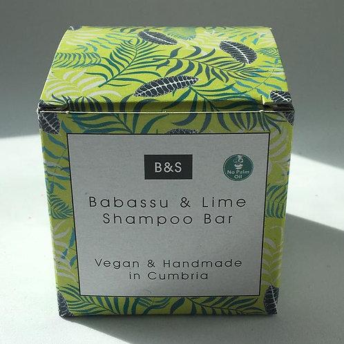 Babassu & Lime Shampoo Bar
