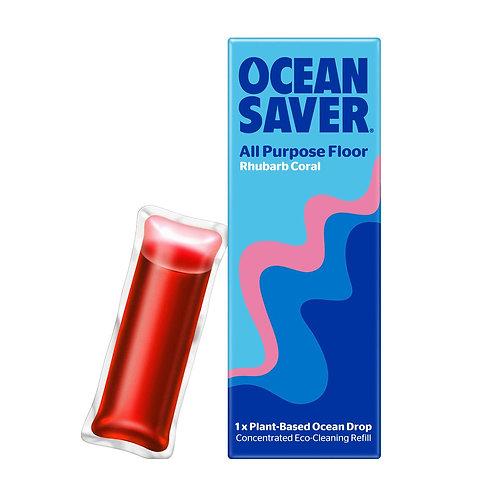 OceanSaver Cleaner Refill Drops - All Purpose Floor (Rhubarb)