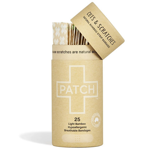 Patch biodegradable plasters -Natural