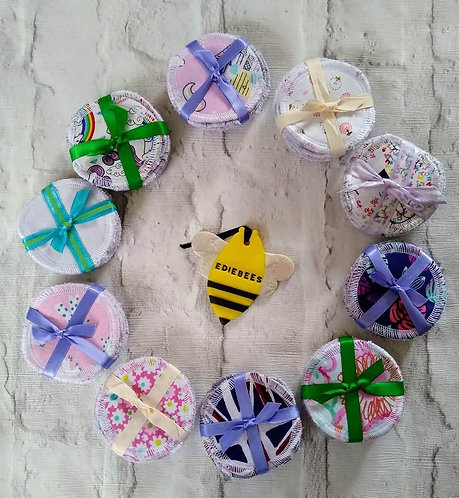 Reusable face pads - 6 pack