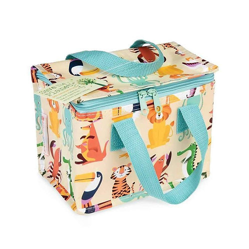 Recycled Plastic Insulated Lunch Bag - Colourful Creatures