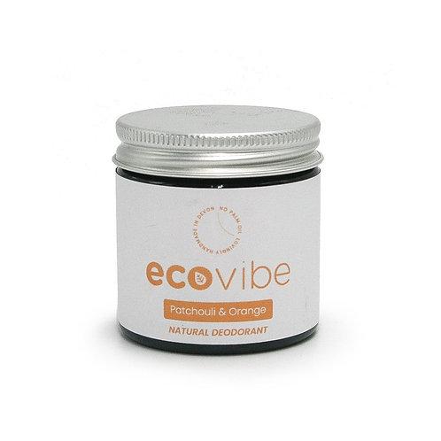 Natural Deodorant - Patchouli & Orange