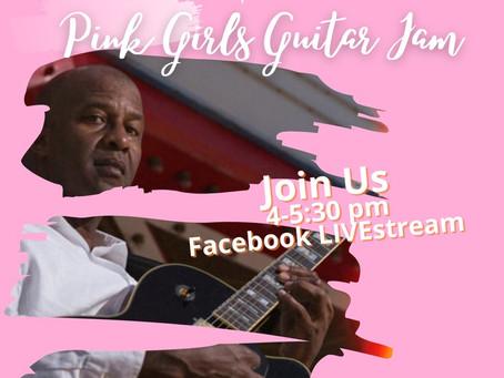 Pink Girls Guitar Jam...Vocalists, enhance your musician skills