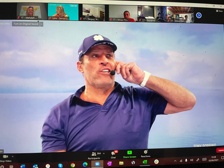How to thrive: my top 10 from a Tony Robbins marathon