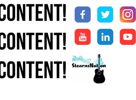 Content! Content! Content!