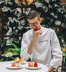 Thibault Marchand, Pastry Chef, Winner Bake Off The Professionals.