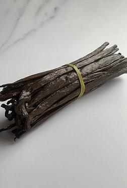 Ugandan Vanilla Beans. Grade A. 16-17 cm