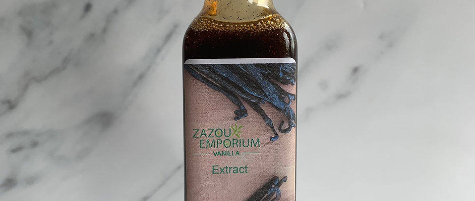 Madagascan Vanilla Extract without Alcohol.