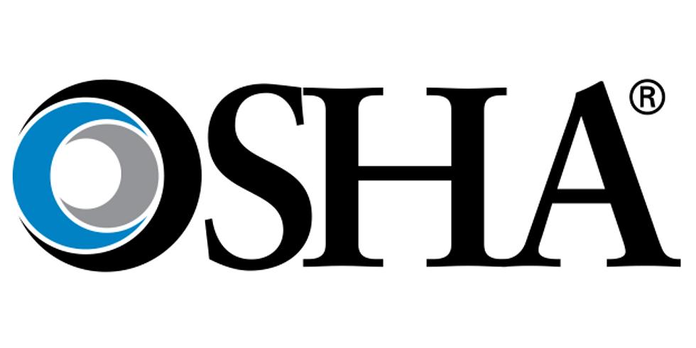 OSHA 30 General Industry (4 days)-LIVE CLASSROOM
