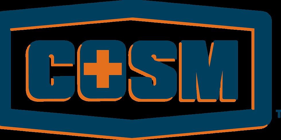 COSM Certification Program (40 hrs)_VIRTUAL