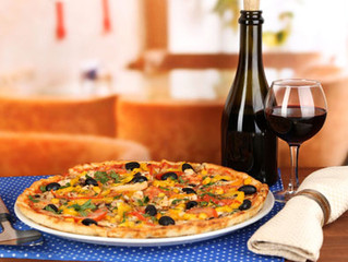 YOUR PIZZA AND WINE MAY HAVE MORE IN COMMON THAN YOU THINK
