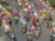 festas logistica transporte feiras event