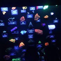 Phosphorescent minerals