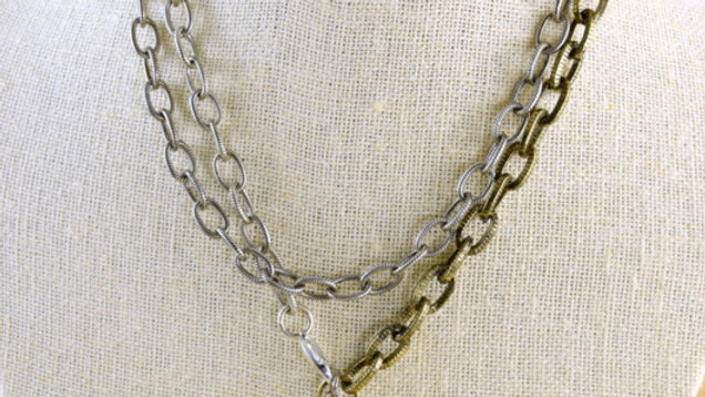 """Sacred Heart 40"""" Necklace"""