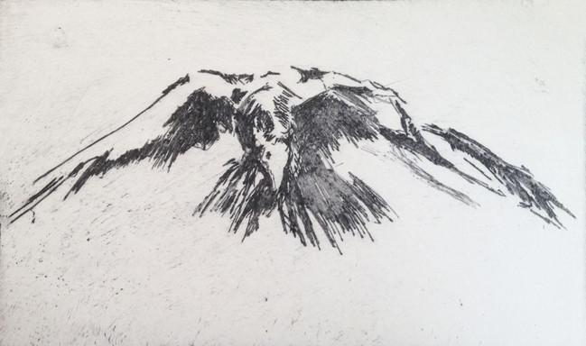 Menacing Crow