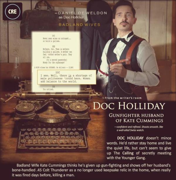 Badland Wives - Doc Holliday