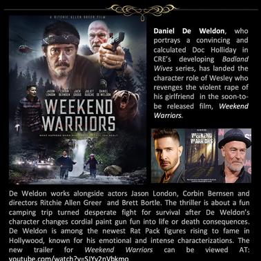 Weekend Warrior CRE INSIDER