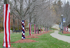 Completed Yarn Bomb