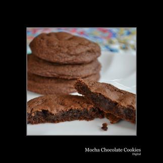 Mocha Chocolate Cookies