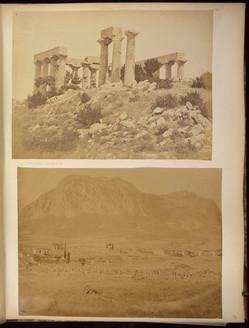 Photographs of Greece, Spain, etc : photograph album, 1867-[1870s?]