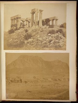 Photographs of Greece, Spain, etc : photograph album, 1867-[1870s?]