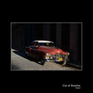 Car at Sunrise