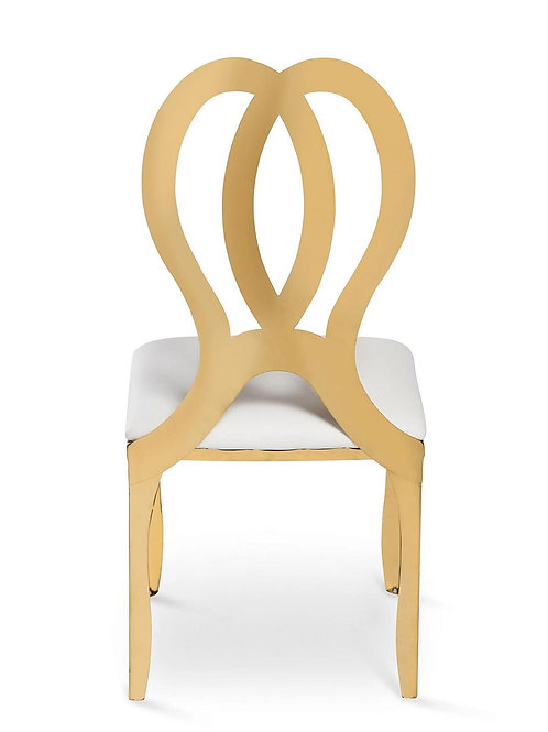 Celine Gold Metal Chairs