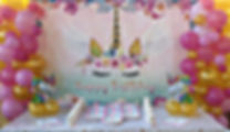 Allestimento unicorno sweet table trezzano sul naviglio