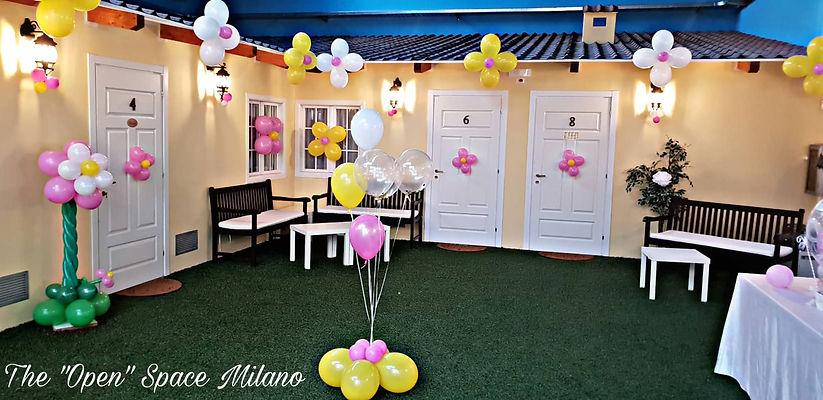 palloncini location evento compleanno festa girl boy trezzano sul naviglio Milano