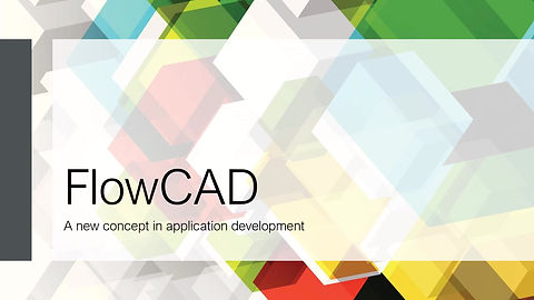 FlowCAD, the business application development platform