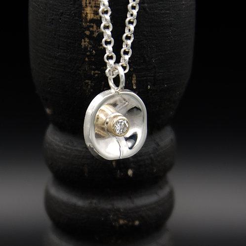 Diamond Curvo Necklace