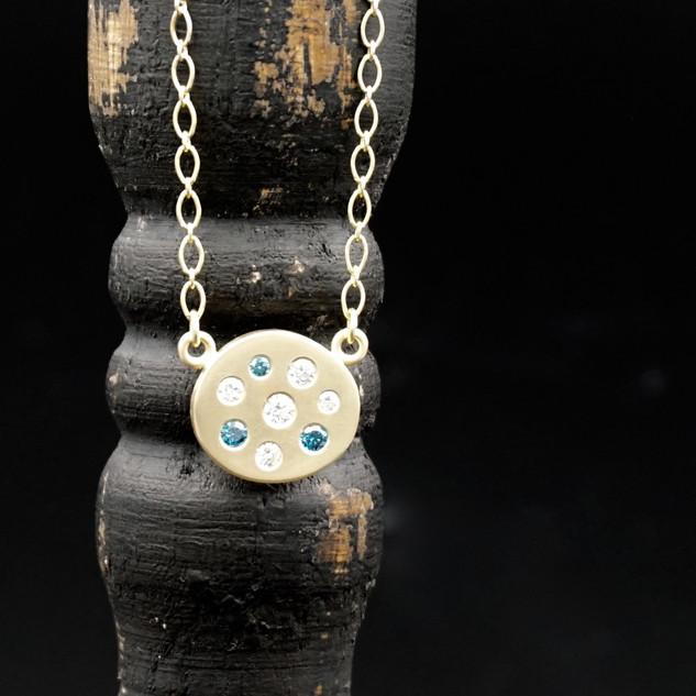 18k Gold & Diamond Necklace