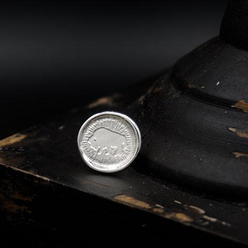 Colorado - Fine Silver Ralphie Tie Tack