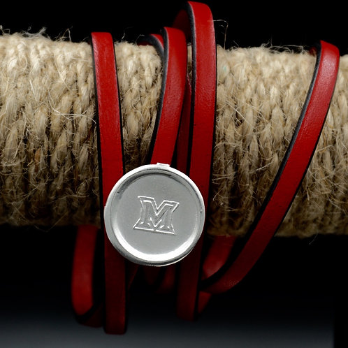 Miami - Leather Wrap Bracelet
