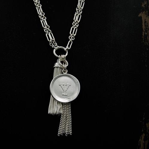 Yale - Tassel Necklace LG -2 Designs