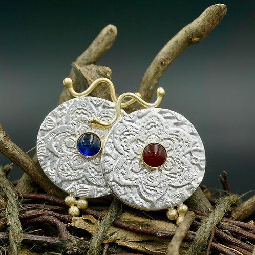 Cici Fiore Necklaces w/18k Gold & Gemstones