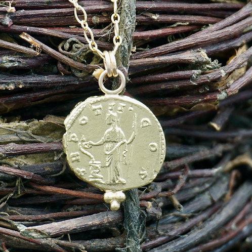 14k Gold Goddess of Healing - Health, Healing & Well-Being
